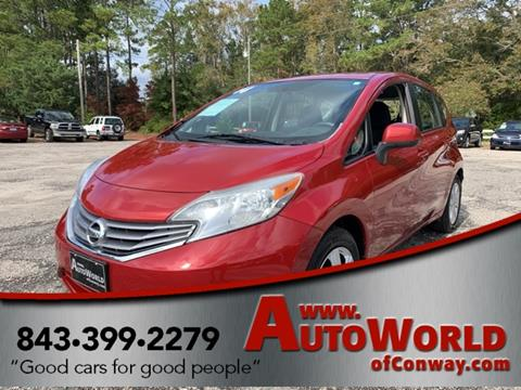 2014 Nissan Versa Note for sale in Conway, SC