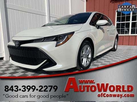 2019 Toyota Corolla Hatchback for sale in Conway, SC