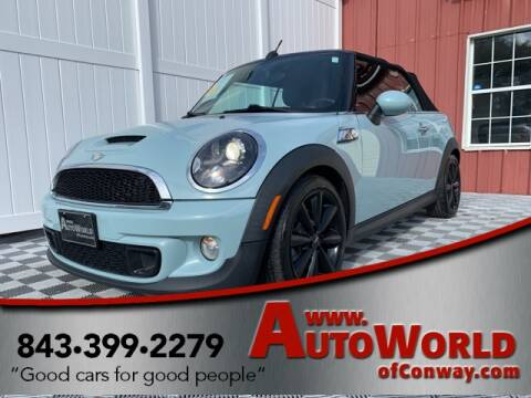 2012 MINI Cooper Convertible for sale in Conway, SC
