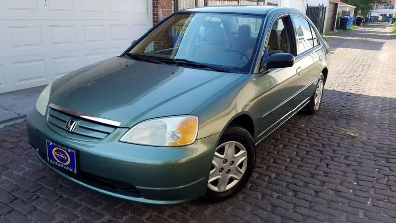 2003 honda civic lx 4dr sedan in chicago il autobank. Black Bedroom Furniture Sets. Home Design Ideas