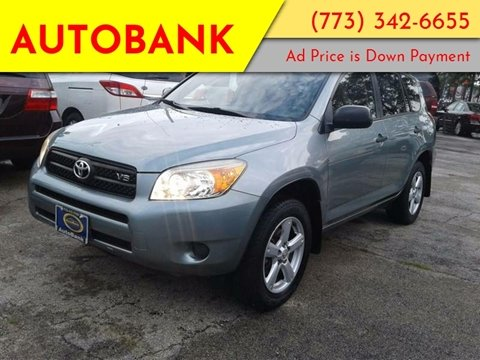 2006 Toyota RAV4 for sale at AutoBank in Chicago IL
