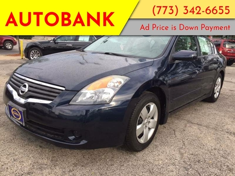 2008 Nissan Altima for sale at AutoBank in Chicago IL