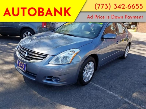 2012 Nissan Altima for sale at AutoBank in Chicago IL