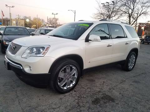2010 GMC Acadia for sale at AutoBank in Chicago IL