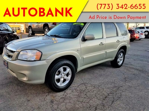 2005 Mazda Tribute for sale at AutoBank in Chicago IL