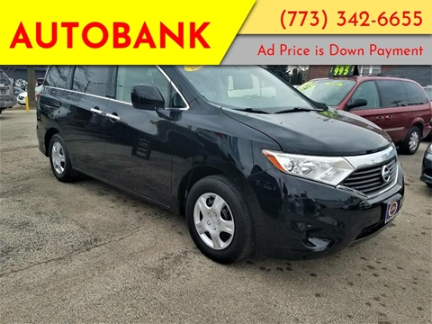 2012 Nissan Quest for sale at AutoBank in Chicago IL