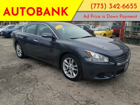 2010 Nissan Maxima for sale at AutoBank in Chicago IL