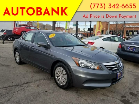 2011 Honda Accord for sale at AutoBank in Chicago IL