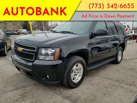 2012 Chevrolet Tahoe for sale at AutoBank in Chicago IL