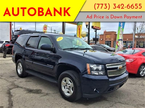 2007 Chevrolet Tahoe for sale at AutoBank in Chicago IL