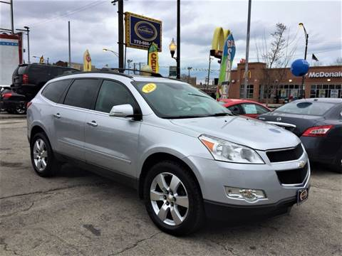 2012 Chevrolet Traverse for sale at AutoBank in Chicago IL
