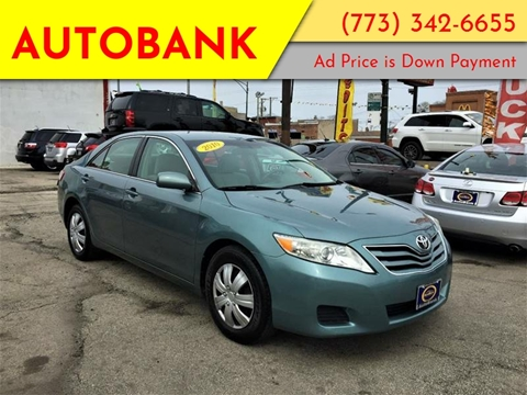 2010 Toyota Camry for sale at AutoBank in Chicago IL