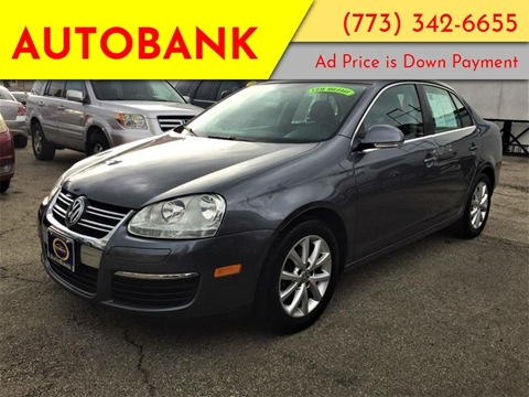 2010 Volkswagen Jetta for sale at AutoBank in Chicago IL