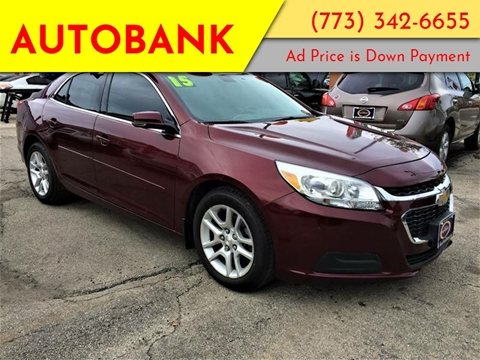 2015 Chevrolet Malibu for sale at AutoBank in Chicago IL