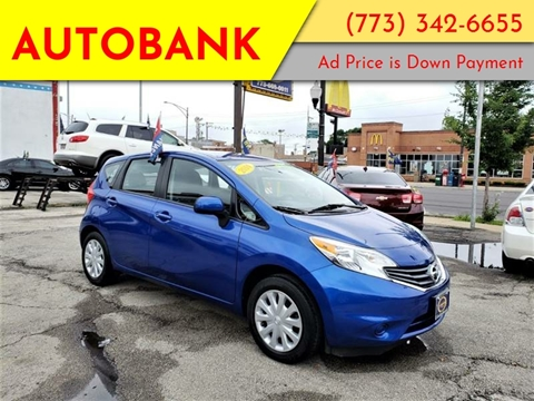 2014 Nissan Versa Note for sale at AutoBank in Chicago IL