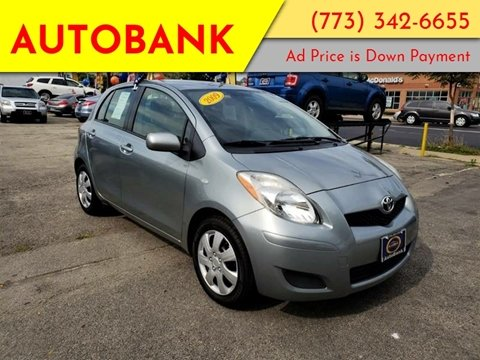 2009 Toyota Yaris for sale at AutoBank in Chicago IL