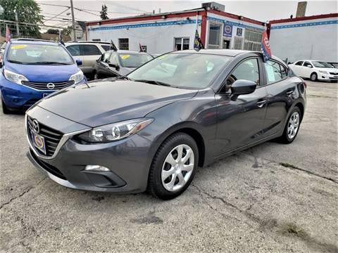 2016 Mazda MAZDA3 for sale at AutoBank in Chicago IL