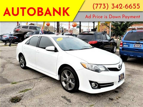 2012 Toyota Camry for sale at AutoBank in Chicago IL