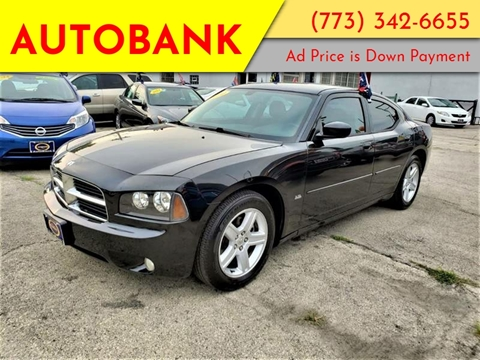 2010 Dodge Charger for sale at AutoBank in Chicago IL