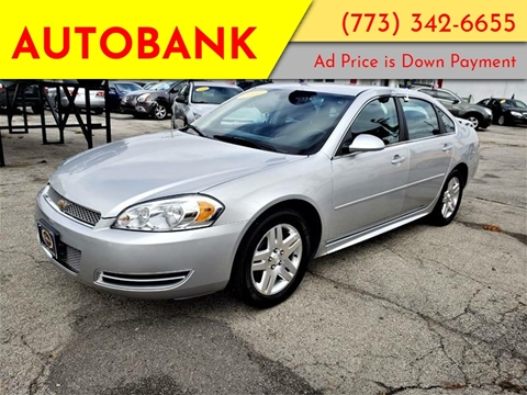 2012 Chevrolet Impala for sale at AutoBank in Chicago IL