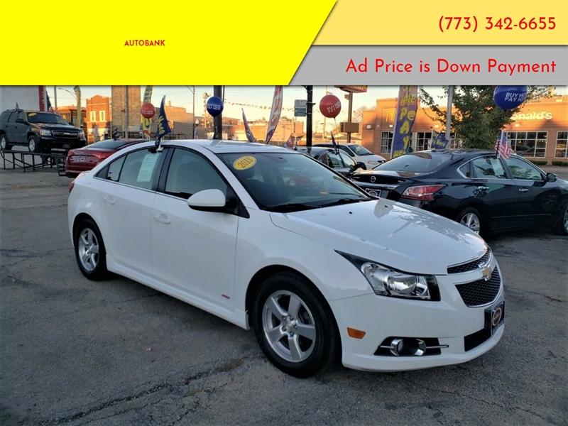 2013 chevrolet cruze 1lt auto 4dr sedan w 1sd in chicago. Black Bedroom Furniture Sets. Home Design Ideas