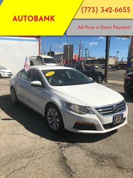 2011 Volkswagen CC for sale at AutoBank in Chicago IL