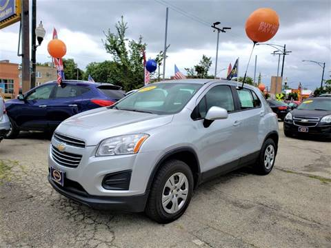 2016 Chevrolet Trax for sale at AutoBank in Chicago IL