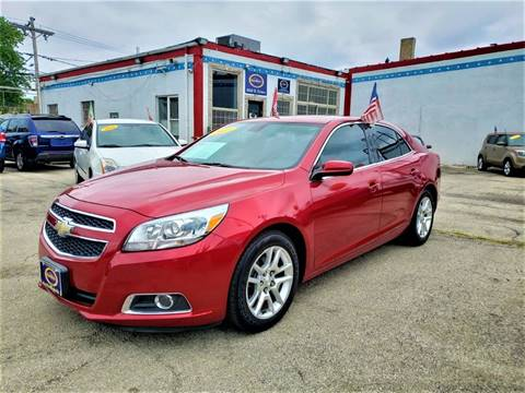 2013 Chevrolet Malibu for sale at AutoBank in Chicago IL