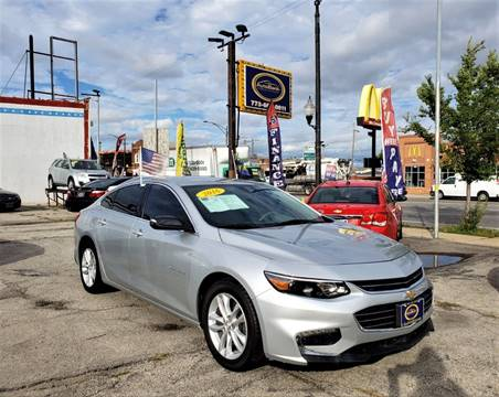 2016 Chevrolet Malibu for sale at AutoBank in Chicago IL