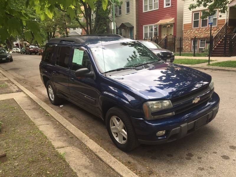 2003 chevrolet trailblazer ltz 4wd 4dr suv in chicago il. Black Bedroom Furniture Sets. Home Design Ideas