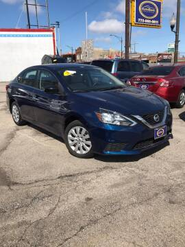 2016 Nissan Sentra for sale at AutoBank in Chicago IL