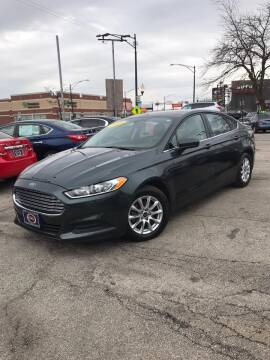 2015 Ford Fusion for sale at AutoBank in Chicago IL