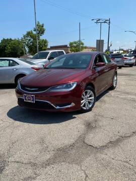 2016 Chrysler 200 for sale at AutoBank in Chicago IL