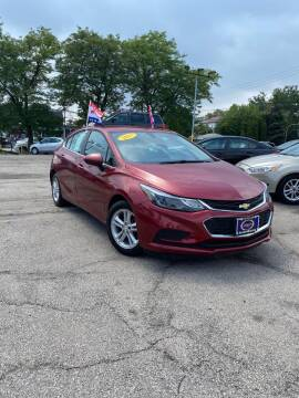 2017 Chevrolet Cruze for sale at AutoBank in Chicago IL