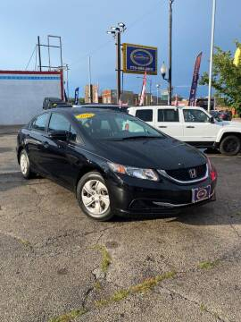 2015 Honda Civic for sale at AutoBank in Chicago IL