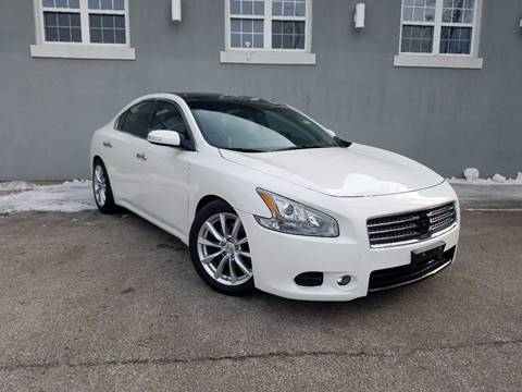 2010 nissan maxima for sale in chicago il. Black Bedroom Furniture Sets. Home Design Ideas