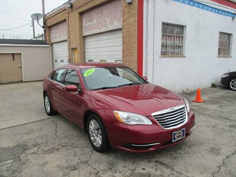 2013 Chrysler 200 for sale at AutoBank in Chicago IL