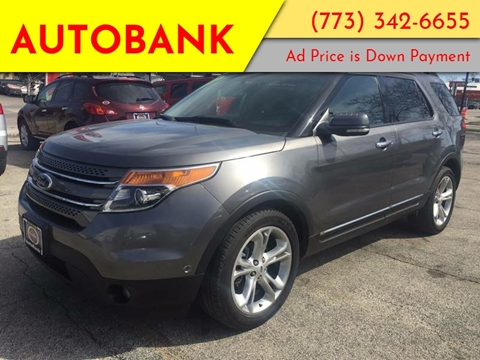 2012 Ford Explorer for sale at AutoBank in Chicago IL