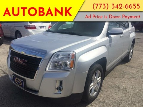 2014 GMC Terrain for sale at AutoBank in Chicago IL