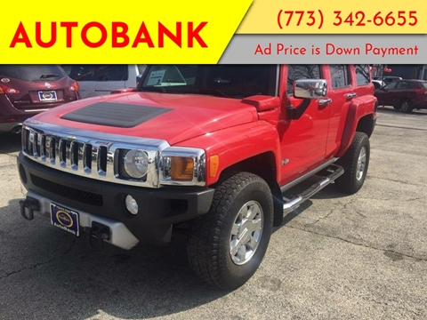 2009 HUMMER H3 for sale at AutoBank in Chicago IL