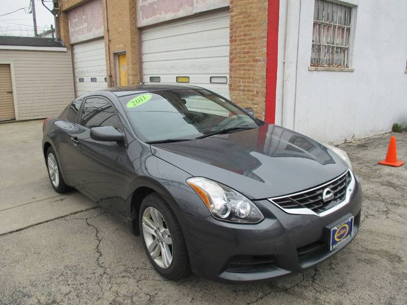 2011 nissan altima 2 5 s 2dr coupe cvt in chicago il. Black Bedroom Furniture Sets. Home Design Ideas