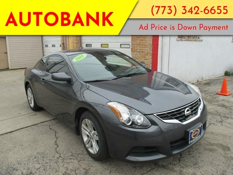 2011 Nissan Altima for sale at AutoBank in Chicago IL