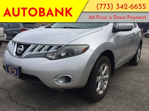 2009 Nissan Murano for sale at AutoBank in Chicago IL