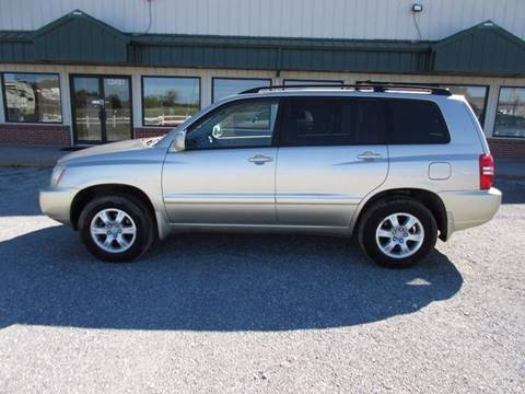 2001 Toyota Highlander for sale in Augusta, KS