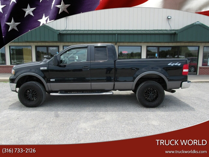 2008 Ford F 150 4x4 60th Anniversary Edition 4dr Supercab 6 5 Ft Sb In Augusta Ks Truck World