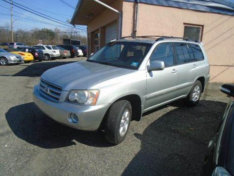 2003 Toyota Highlander for sale in Parsippany, NJ