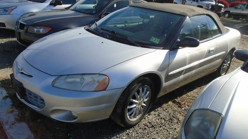 2002 Chrysler Sebring LXi 2dr Convertible In Parsippany NJ  RT 46