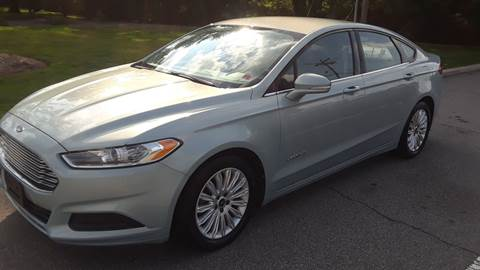2013 Ford Fusion Hybrid for sale in Parsippany, NJ