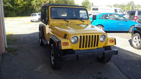 2001 Jeep Wrangler for sale in Parsippany, NJ