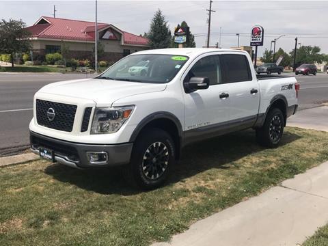 2018 Nissan Titan for sale in Spanish Fork, UT